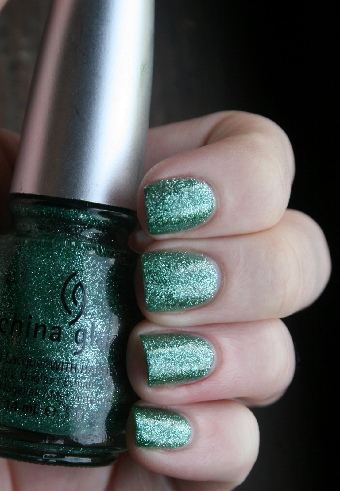 China Glaze Mistletoe Kisses Swatch