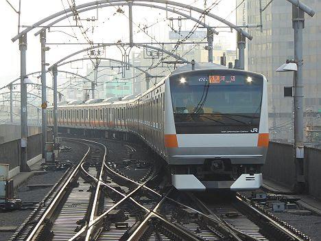 【ダイヤ改正でレア行先誕生!】各駅停車 河辺行き E233系(平日早朝のみ)