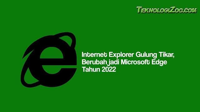 internet explorer pensiun