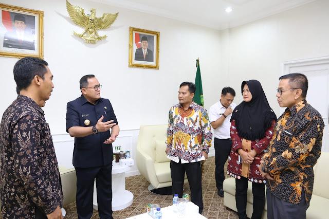 Peran Aktif Camat dan Kades Tingkatkan Partisipasi Masyarakat Pada Pemilu 2019