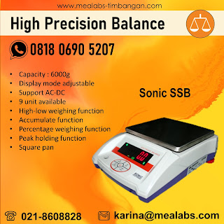 High Precision Balance Sonic SSB