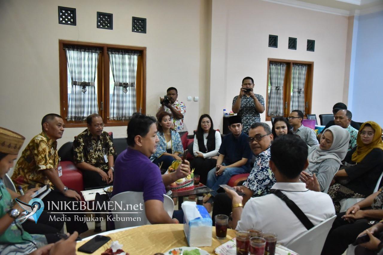 Yayasan Rekat Anak Bangsa Jajaki Kerjasama dengan Pemkab Kebumen