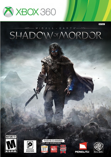 Middle Earth Shadow Of Mordor - Xbox360 - Portada