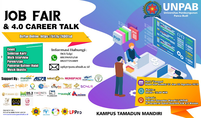 Job Fair & 4.0 Career Talk UNPAB 2019