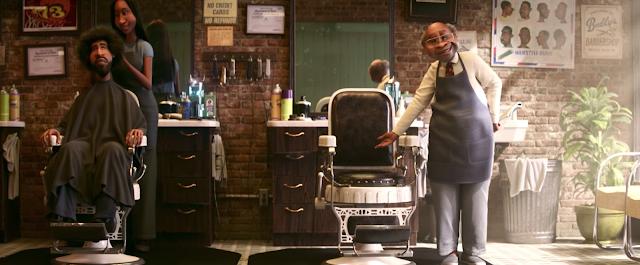 Pixar Soul Buddy's Barber Shop