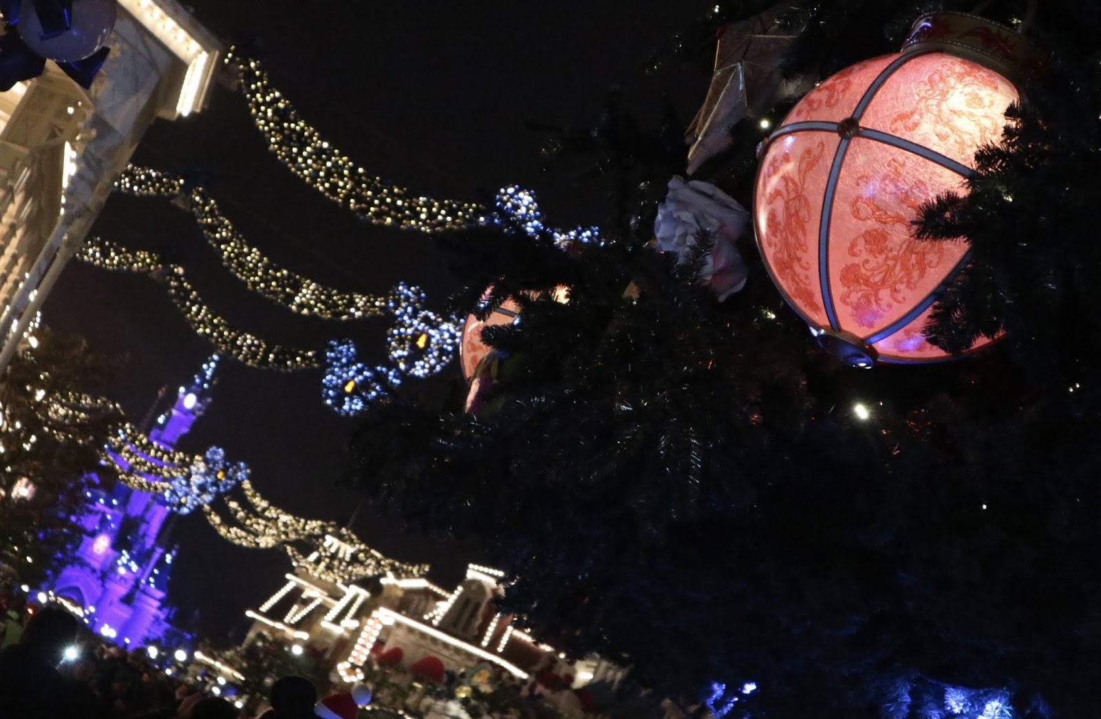 Image Christmas Disneyland Paris 2018 Main Street