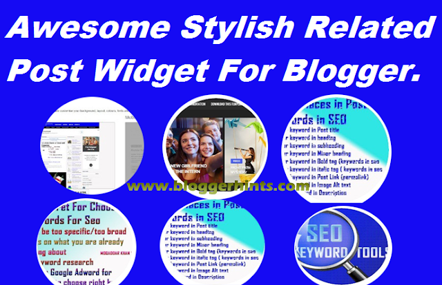 Awesome Stylish Related Post Widget For Blogger