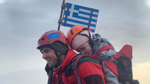 Ελευθερία Τόσιου: «Ήθελα πολύ να δω τον κόσμο από εκεί πάνω»