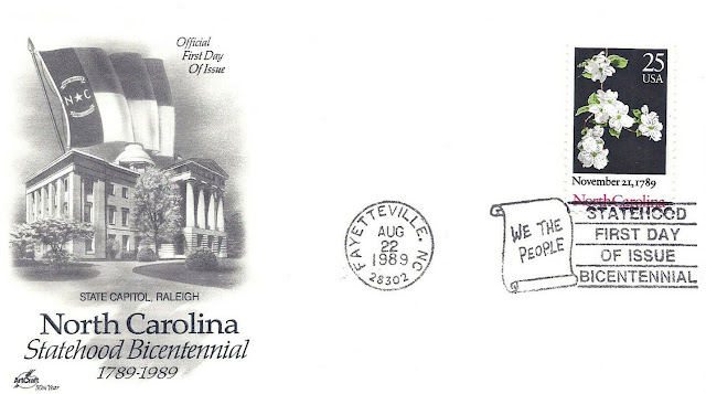 North Carolina US Statehood