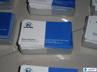 Business Cards for Nauri