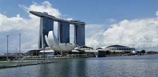 Hotel Marina Bay Sands de Singapur. Art Science Museum.