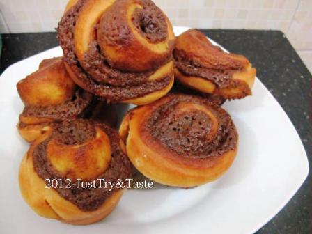 Obsesi Roti 20: Cinnamon Bun