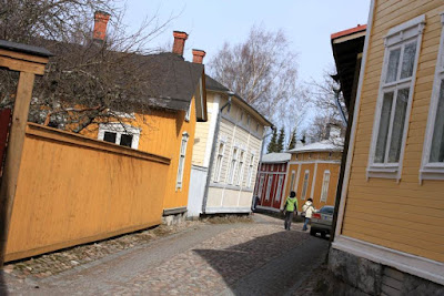 Old Rauma in Finland
