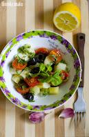 (salatka z bialych szparagow