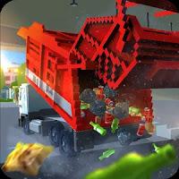 Blocky Garbage Truck SIM PRO Mod Apk