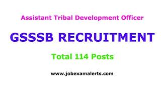 Assistant Tribal Development Officer Recruitment