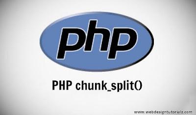 PHP chunk_split() Function
