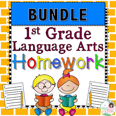 Language Arts Homework Printable Activities