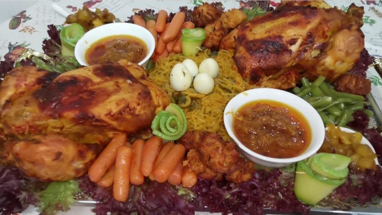 دجاج معمر بالشعرية الصينية 15