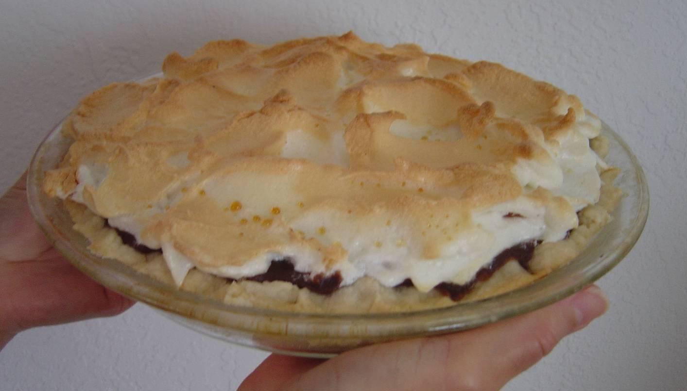 Whole Chocolate-Peanut Butter Pie