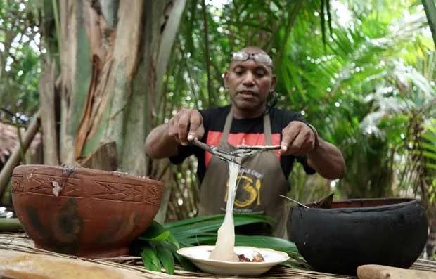 9 Fakta Papeda Kata Chef Chato, Ada Lontong hingga Lenyapkan Flek