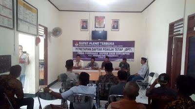 Jelang Pilkades Serentak 2019, Desa Cirumpak Hari Ini Laksanakan Rapat Pleno Penetapan DPT