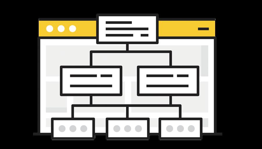 Sitemap es una lista de las Webs del Sitio