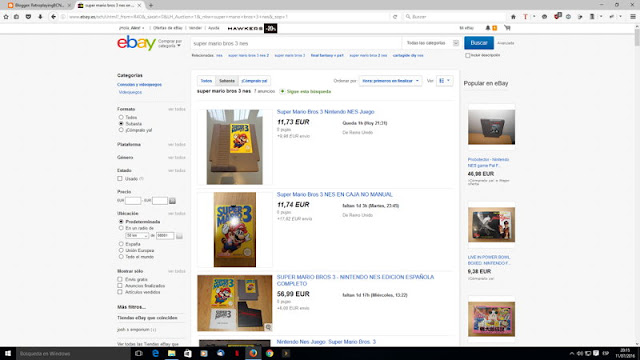 busqueda por ebay