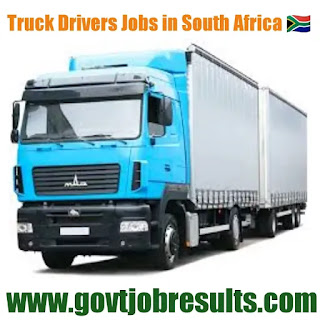 Truck Driving Jobs in South Africa 2020-21