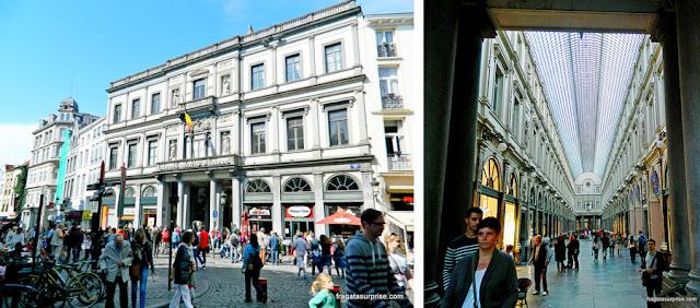 Galerias Saint-Hubert, em Bruxelas