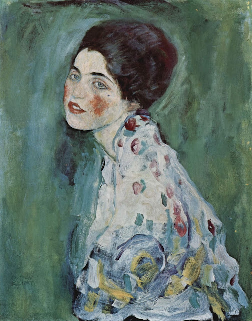 Quadro Gustav Klimt Ritratto di Signora
