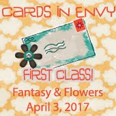 Cars in Envy~Fantasy and Floral: First Class Card