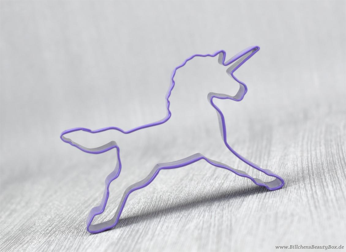 Einhorn Plätzchenausstecher / Unicorn Cookie Cutter
