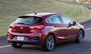 novo Chevrolet estreia o novo Cruze Sport6 no Brasil