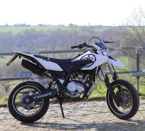 Design Yamaha WR125X