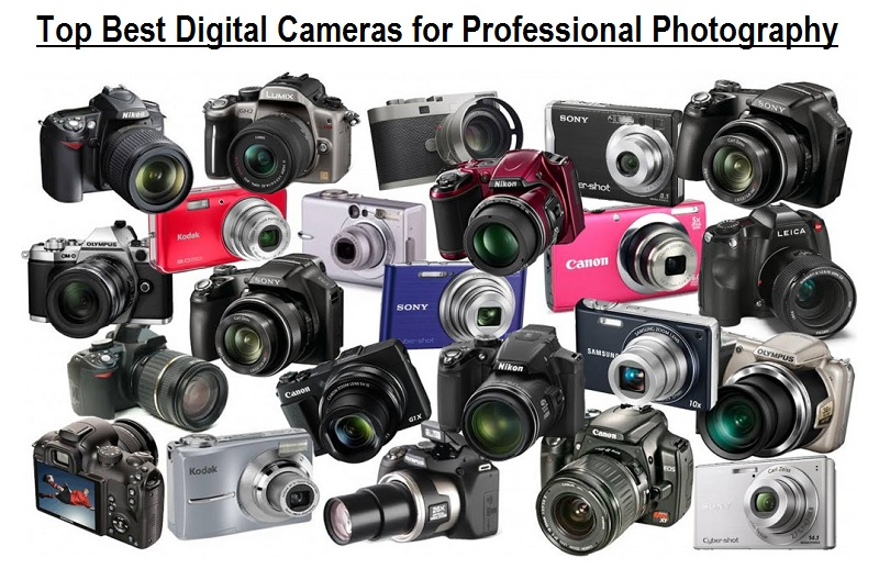 Top Best Digital Cameras for Professional Photography