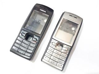 Casing Nokia E50 Fullset Plus Keypad Tulang