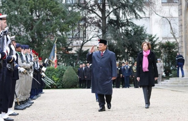 Prabowo: Defense Cooperation between Indonesia and France Continues to Strengthen