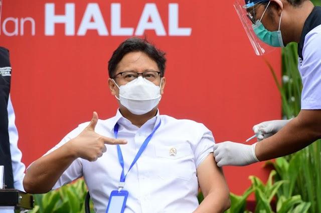 Hari Ini, 11.600 Tenaga Kesehatan Berusia di Atas 60 Tahun Divaksin