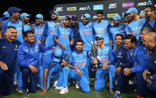 India tour of New Zealand 5-Match ODI Series 2019