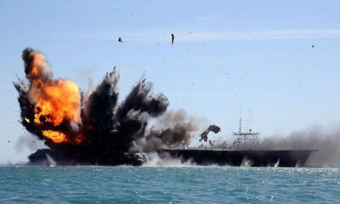 Προσομοίωση επίθεσης σε αμερικανικό αεροπλανοφόρο πραγματοποίησε το Ιράν
