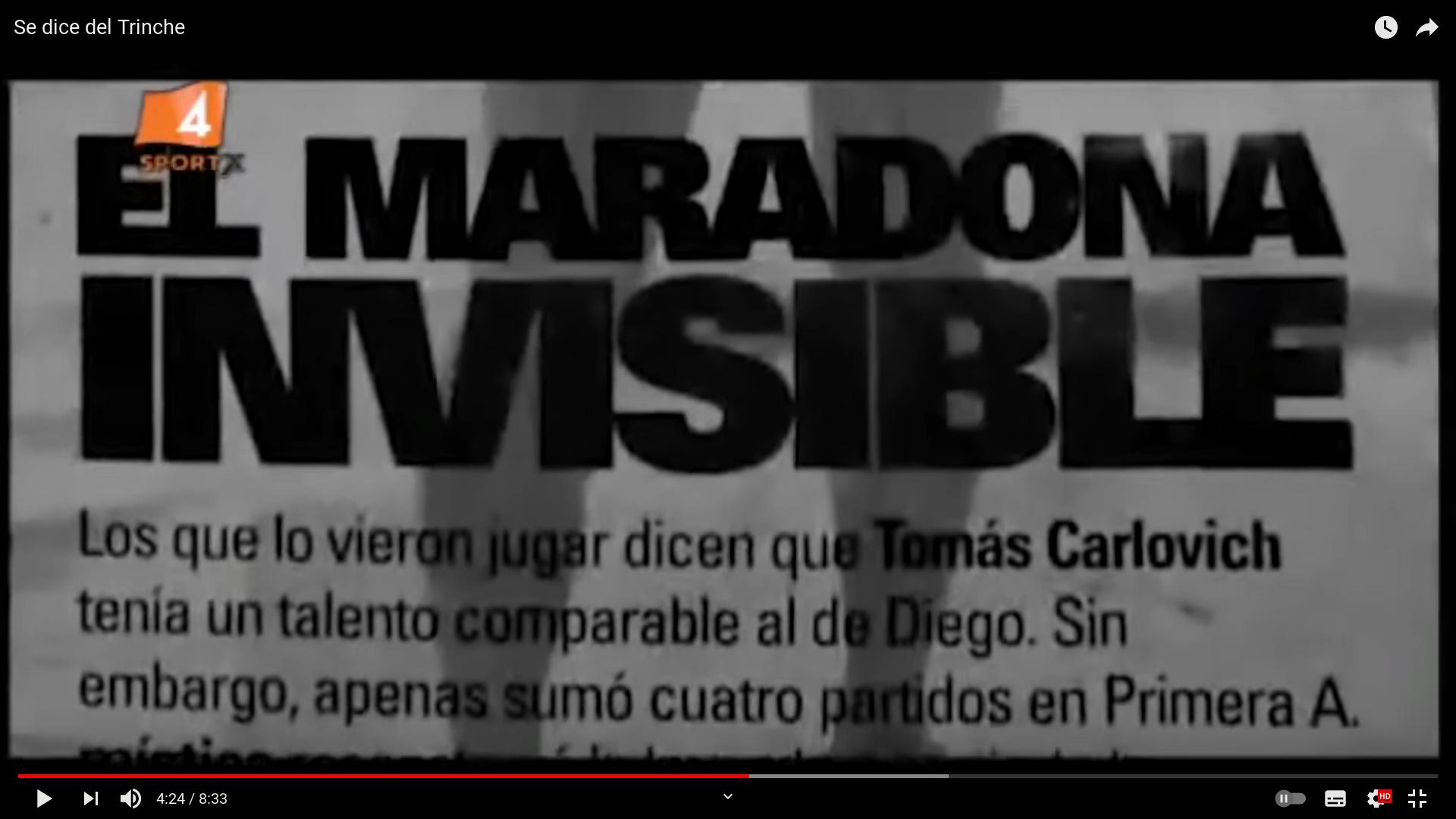 EL MARADONA INVISIBLE