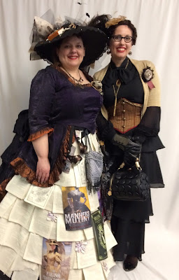 Gail Carriger Cover Cosplay, Literally, At the Alaska Steamposium