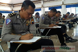 Anggota Polres Grobogan Pemegang Senpi Ikuti Tes Psikologi