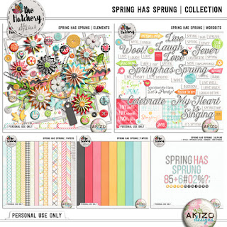 Spring Has Sprung Count-Collection  by Akizo Designs