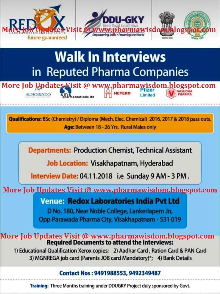 Pfizer / Aurobindo / SMS Pharma / Hetero / Vasudha Pharma