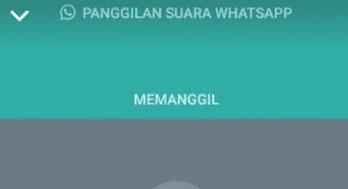 Pengertian Memanggil dan Berdering di Panggilan WhatsApp