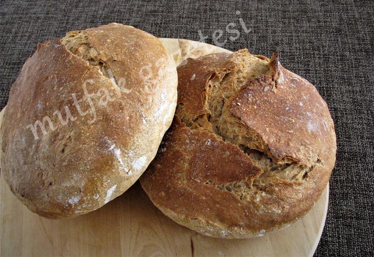 ev yapımı ekşi maya ekmek
