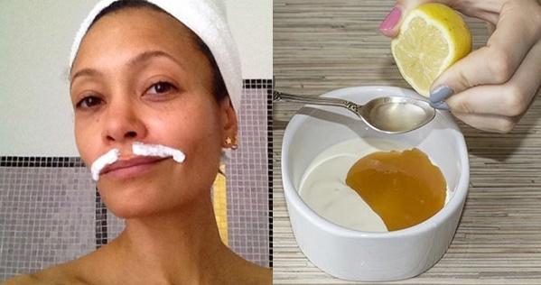Ազատավեք դեմքի մազերից բնական բաղադրատոմսով