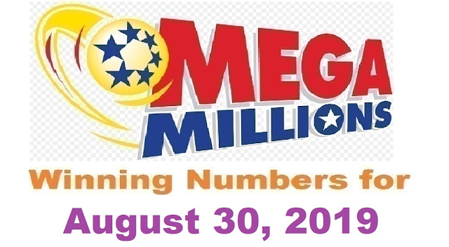 Mega Millions Winning Numbers for Friday, August 30, 2019